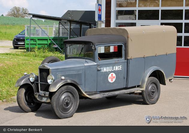 Wohlen - Rettungsdienst Neeser - Ambulanz (a.D.)