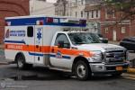 NYC - Queens - Jamaica Hospital Medical Center - Ambulance 4738 - RTW
