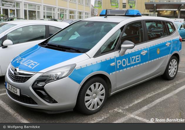 B-7315 - Opel Zafira Tourer - FuStW