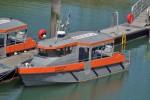 """Loon-Plage - Dunkerque LNG - Zubringerboot """"LA DEVOUEE"""""""