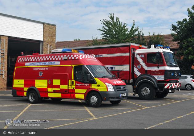 GB - Bognor Regis - West Sussex Fire & Rescue Service - CSU & OSU
