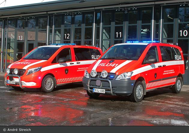 FI - Espoo - Länsi-Uudenmaan Pelastuslaitos - ELW - RLU31 & RLU41