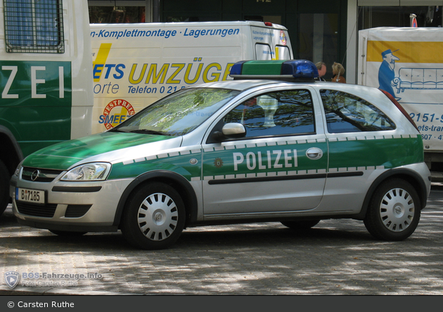 B-7185 - Opel Corsa C - FuStW