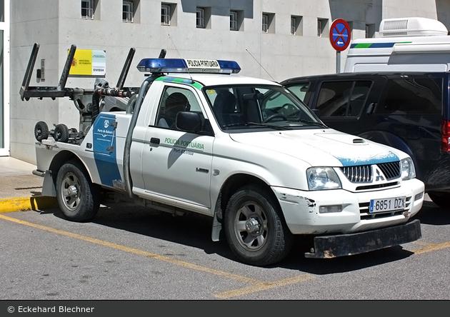 Eivissa - Policía Portuaria - Abschleppwagen