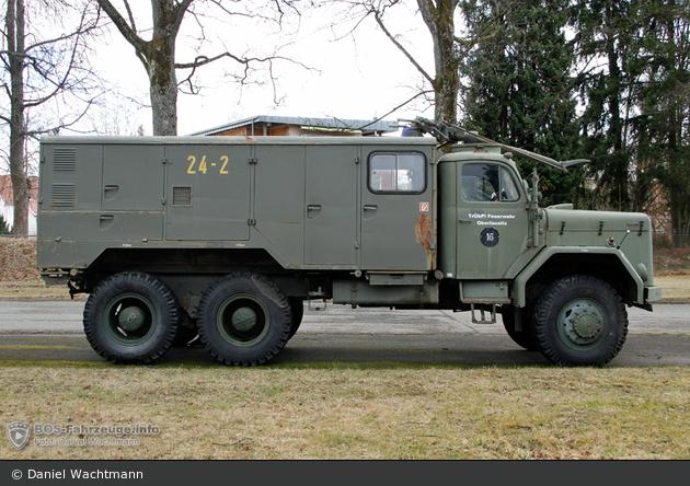 Einsatzfahrzeug Oberlausitz Feuerwehr Flkfz 3800 Ad Bos