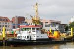 WSA Weser-Jade-Nordsee - Messschiff - Tide
