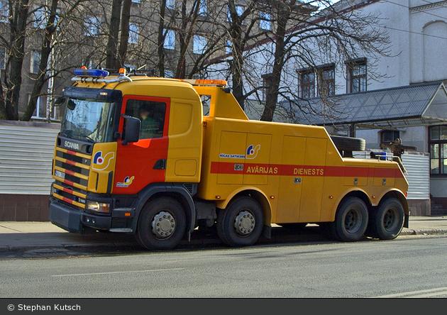 Rīga - Avārijas Dienests - Bergefahrzeug