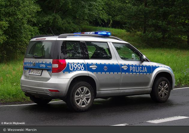 Złotów - Policja - FuStW - U996