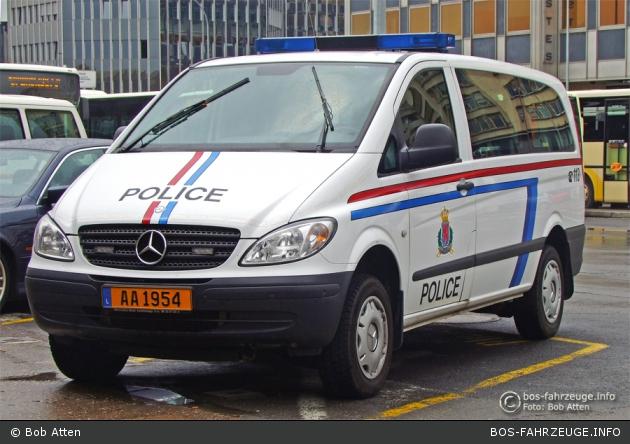 AA 1954 - Police Grand-Ducale - FuStW