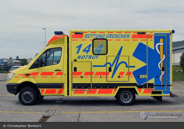 Grenchen - Rettung Grenchen - RTW - WB02