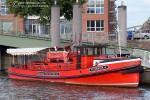 """Hamburger Feuerwehrhistoriker Löschboot """"Feuerwehr IV"""" (a.D.)"""