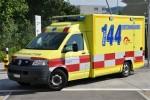 Fricktal - Gesundheitszentrum - RTW - GFZ 43 (a.D.)
