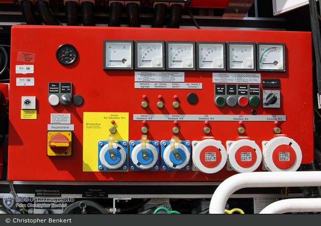 Florian Dillingen 01/29 - GR Bedieneinheit Stromerzeuger