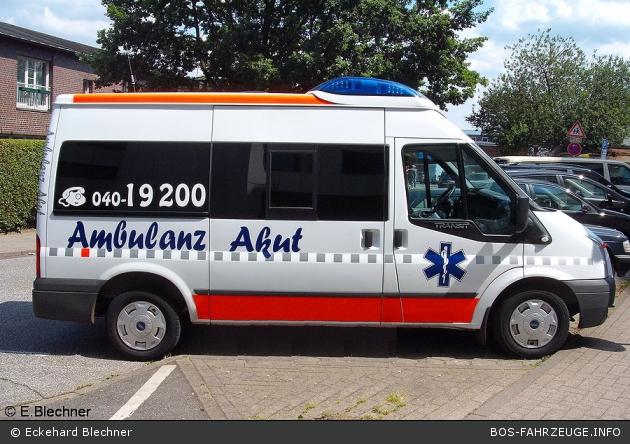 Ambulanz Akut - KTW (HH-UF 661) (a.D.)