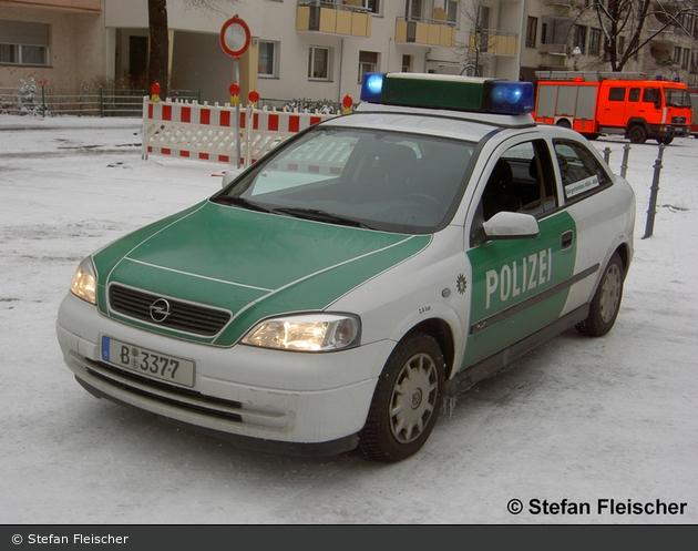 B-3377 - Opel Astra G - FuStW (a.D.)