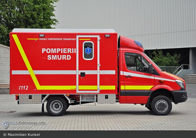 ohne Ort - Pompierii - I-RTW