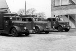 HB - BF Bremen - Fahrzeugpark um 1950