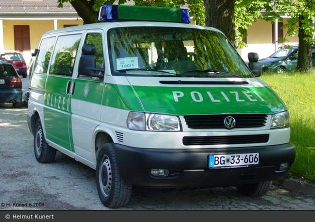 BG33-606 - VW T4 syncro - FuStW