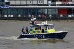 "London - Metropolitan Police Service - Marine Policing Unit - Streckenboot MP2 "" JOHN HARRIOT IV"""