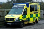 Coleford - South Western Ambulance Service - RTW - 7727