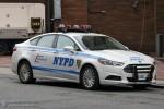 NYPD - Manhattan - Headquarter Security Unit - FuStW 4325