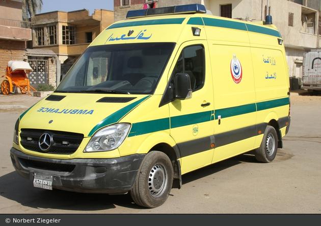 al-Qāhira - Gesundheitsministerium - RTW - 1694