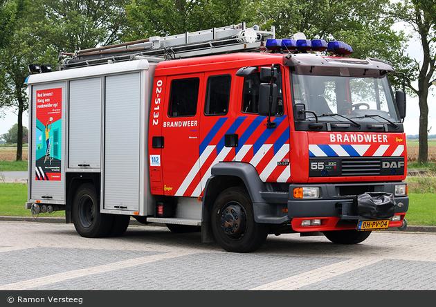 Waadhoeke - Brandweer - HLF - 02-5132 (a.D.)