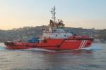 """İstanbul - Kıyı Emniyeti - Küstenwachtschiff """"KURTARMA 9"""""""