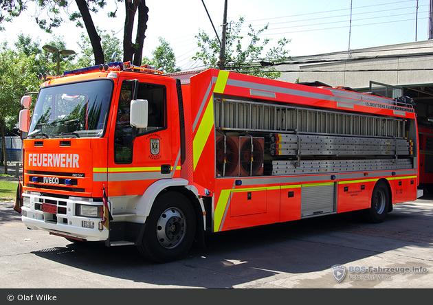 Santiago de Chile - Cuerpo de Bomberos - GW-Leiter - Q-15