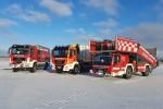 HB - Flughafenfeuerwehr Airport Bremen - Winter 2020