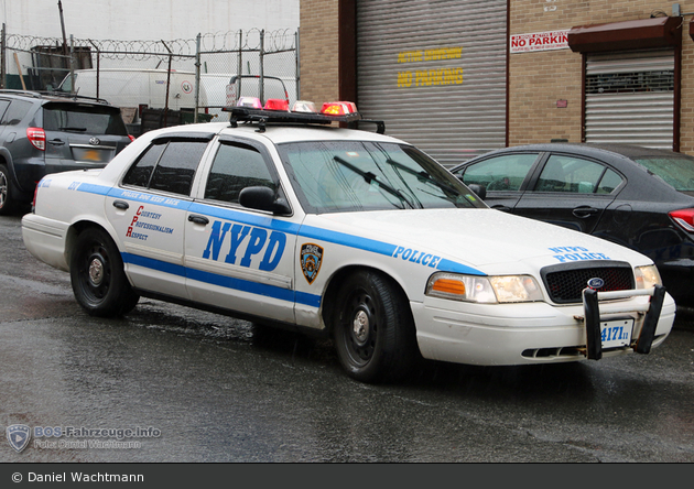 NYPD - Bronx - Emergency Service Unit - K9-Unit - DHuFüKw 4171