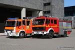 HH - BF Hamburg - F 14 Elbtunnel Nord - Generationswechsel TLF / SLF-T