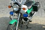 Kolín - Policie - Krad