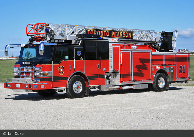 Toronto - Pearson International Airport Fire & Emergency Services - Aerial 21