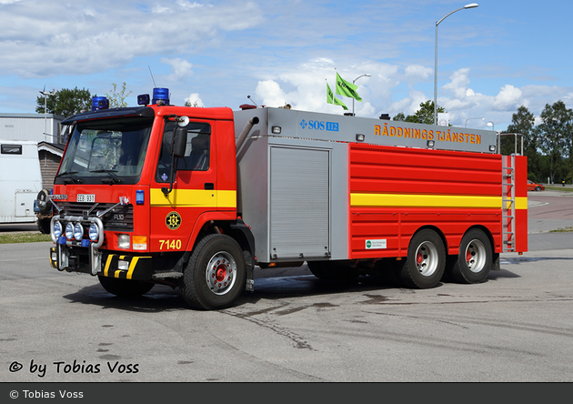 Alfta - Räddningstjänsten Södra Hälsingland - Tankbil - 2 26-7140