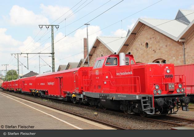 Fulda - Deutsche Bahn AG - Rettungszug