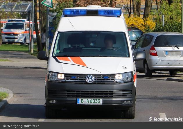 Krankentransport AMG - KTW 35