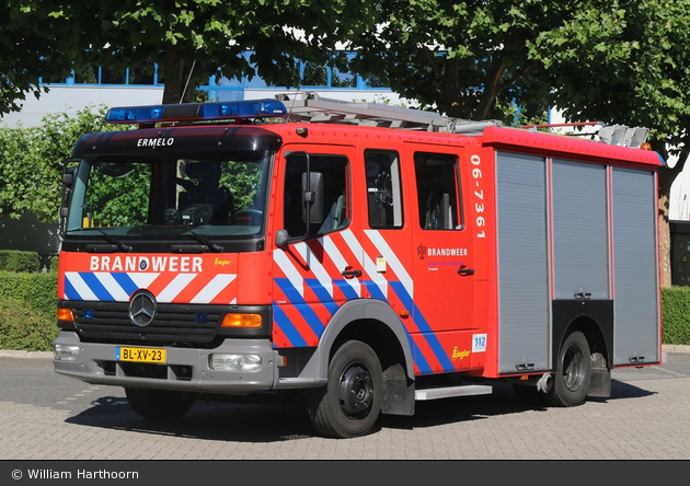 Ermelo - Brandweer - SW - 06-7361