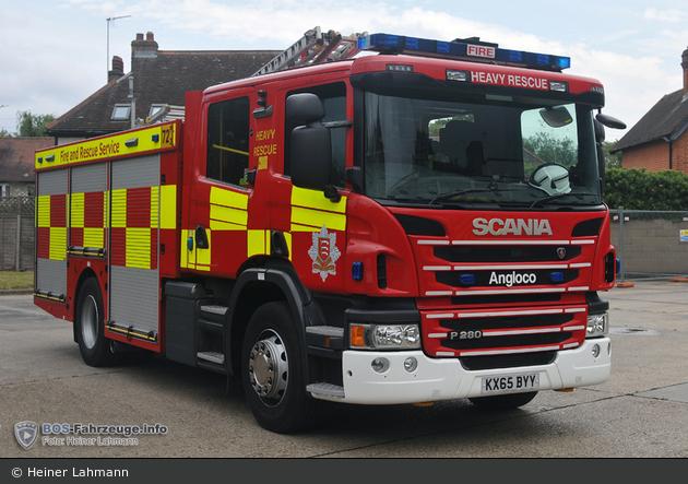 Loughton - Essex County Fire & Rescue Service - HRP
