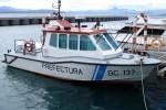 """Lago Nahuel Huapi - PNA - Streifenboot """"Cormoran"""""""