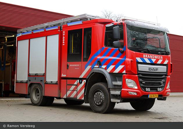 Valkenswaard - Brandweer - HLF - 22-4441