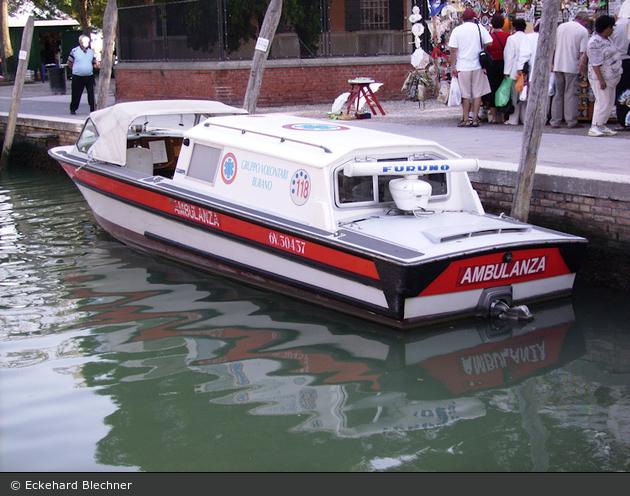 Burano - Gruppo Volontari - Ambulanza