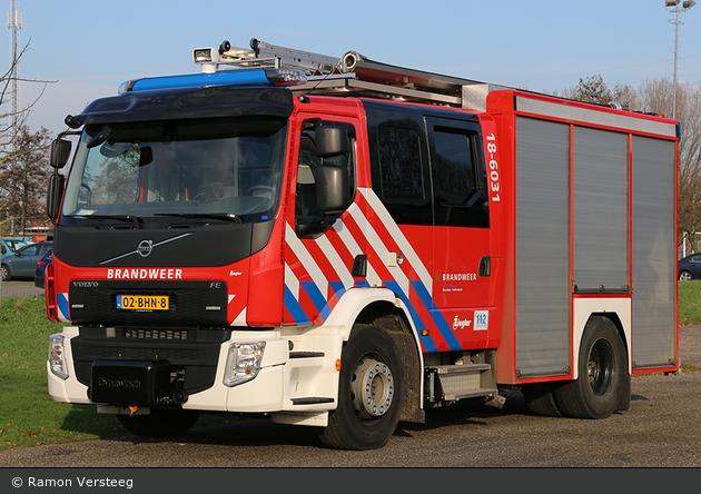 Hoeksche Waard - Brandweer - HLF - 18-6031