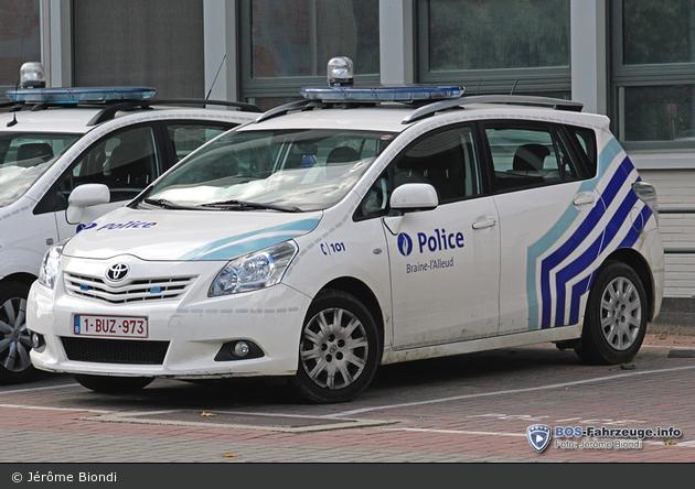 Braine-l'Alleud - Police Locale - FuStW (a.D.)