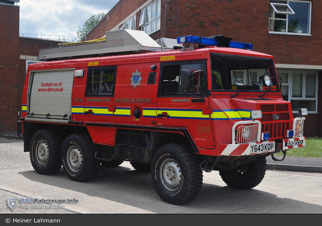 Maidenhead - Royal Berkshire Fire and Rescue Service - L6P