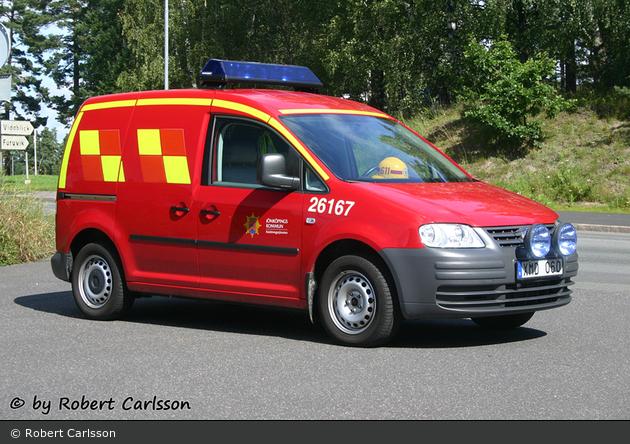 Bankeryd - Räddningstjänsten Jönköping - IVPA-/FIP-bil - 26 167 (a.D.)