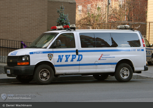 NYPD - Queens - 109th Precinct - HGruKW 8637