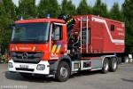 Mechelen - Brandweer - WLF-Kran