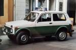 Schwerin - Lada WAZ 2121 Niva - FuStW (a.D.)