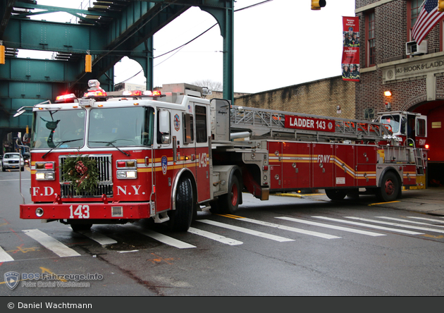 FDNY - Queens - Ladder 143 - DL